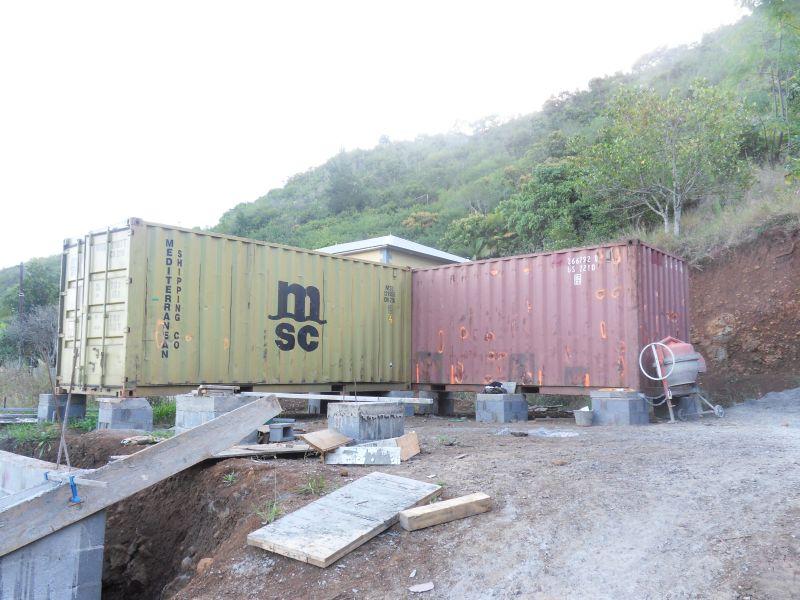 Entre2containers for Construire maison en conteneur
